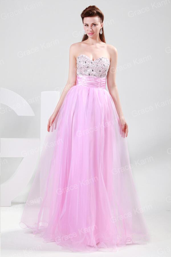 Terjual Jual Baju Pesta Gaun Dress Wanita Pink Elegan Import