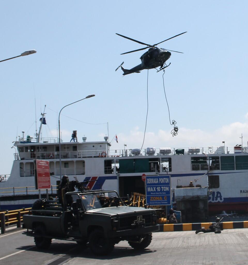 1 Kapal Penyeberangan di Bajak Teroris