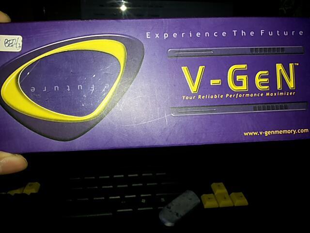 Memorry Ram V-Gen 4GB DDR 3 PC 10600 1333 MHz