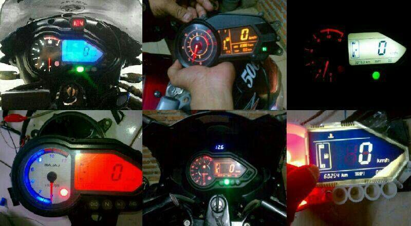 repair / service speedometer pulsar dan ganti led / polarizer