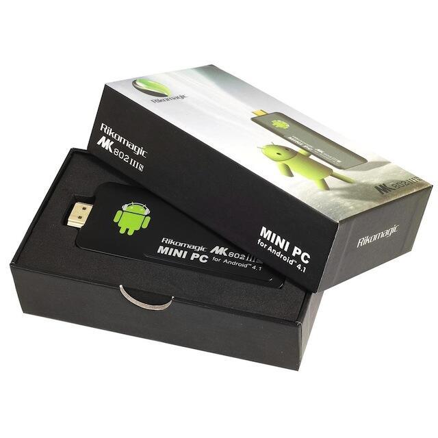 Rikomagic MK802 IIIS Membuat TV LCD dan LED anda menjadi Android TV dan Smart TV