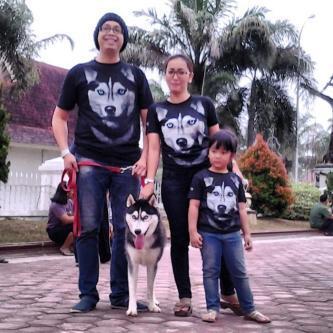 T-Shirt 3D Genethics Husky