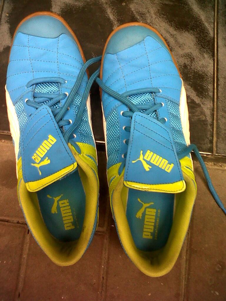 [lelang] futsal shoes original puma | series veloz | ob rendah