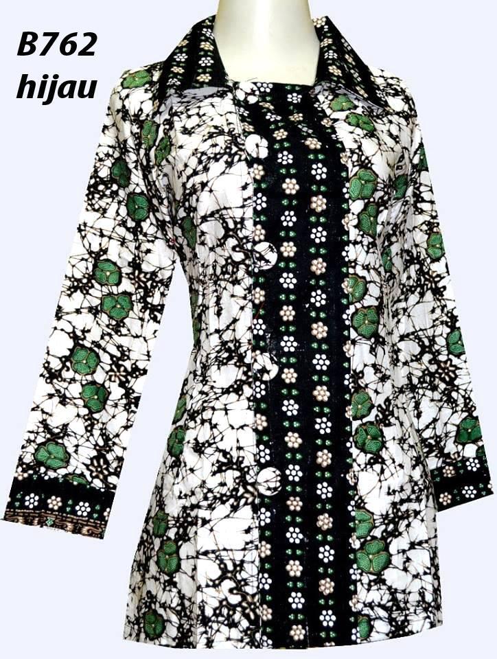Batik Blouse Cewek Cotton Khas Solo