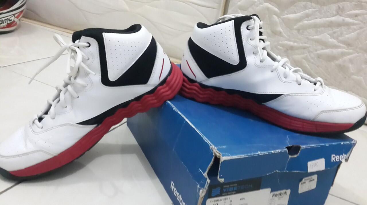 [JUAL] Sepatu Basket Reebok ThermalVibe II Ori (MULUS)