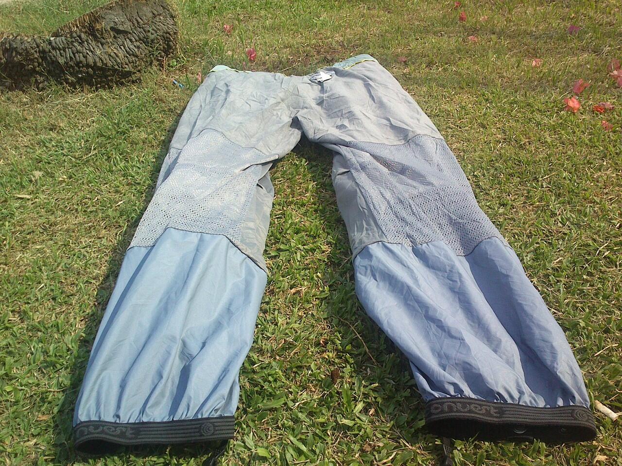 jual celana gunung columbia waterproof omni tech 2ND