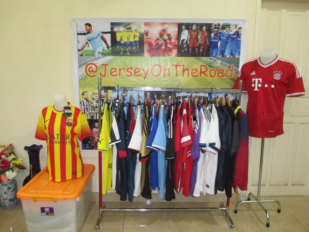 Jersey On The Road : Jual Jersey Keliling Medan