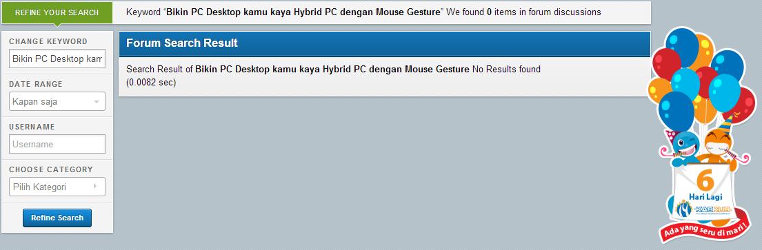 Bikin PC Desktop kamu kaya Hybrid PC dengan Mouse Gesture