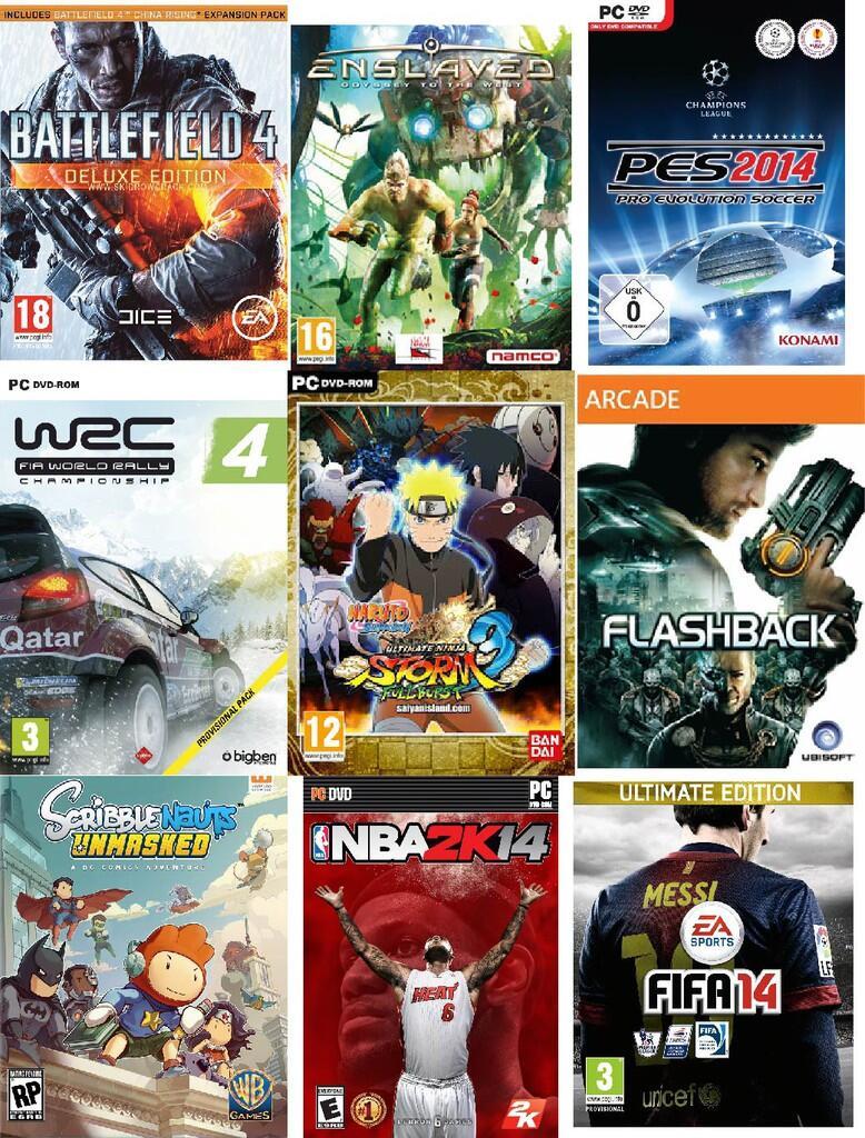 JUAL KOLEKSI DVD GAME PC! BANDUNG !!