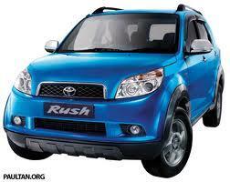 Toyota RUSH di bandung terima cash dan credit(dp&cicilan)nego