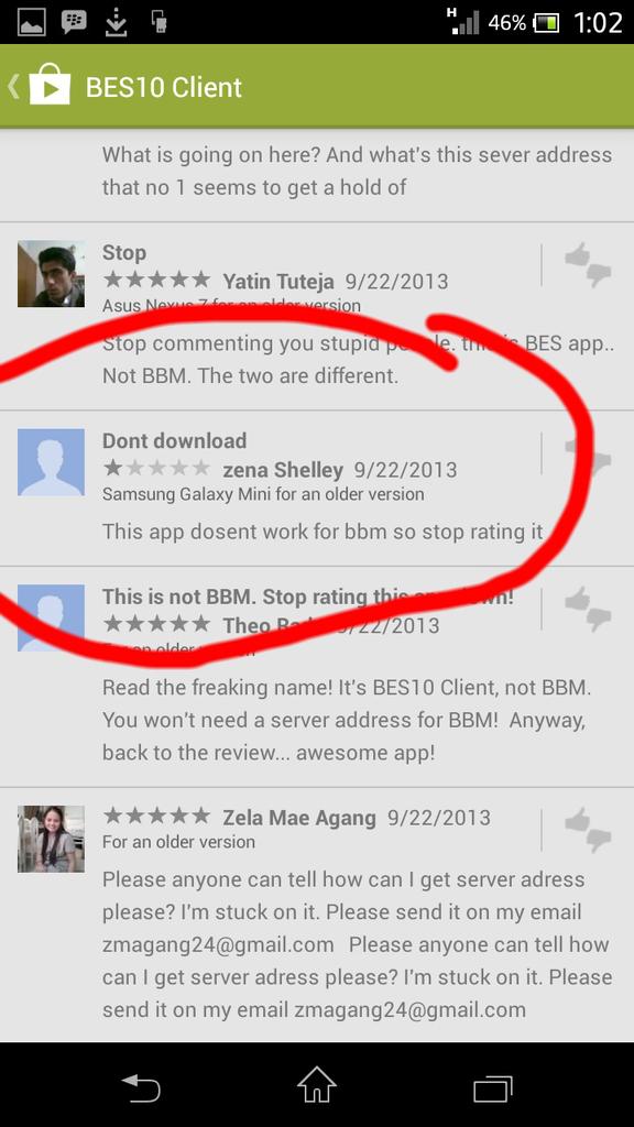 banyak orang udah di-troll ma aplikasi android ni!! (bule juga banyak yang kena)