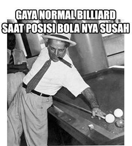 yang jago billiard masuk , yang engga jago juga boleh !!