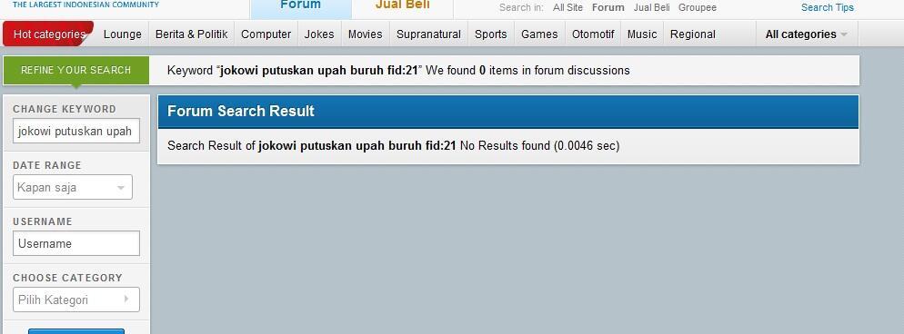 Jokowi putuskan upah buruh DKI 2014