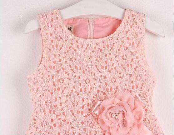 Terjual Dress Anak Gaun Brokat