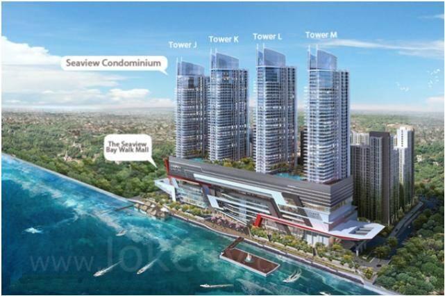 Dijual Condominium Green Bay Pluit - Semi Penthouse - 2 Bedroom - Sea View