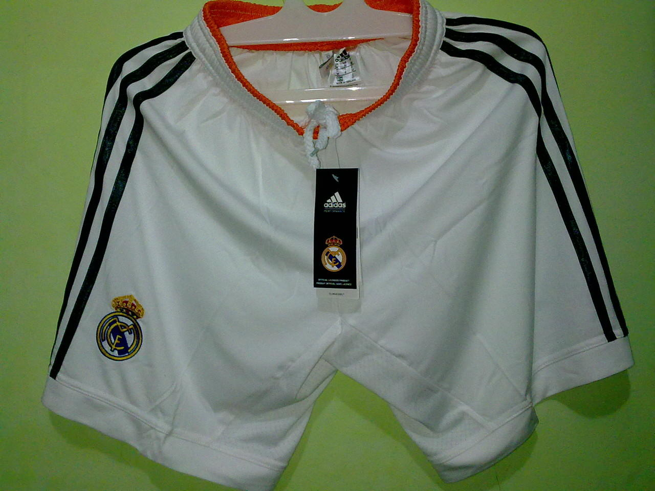 Shorts / Celana Grade Ori Real Madrid Home 2013/2014