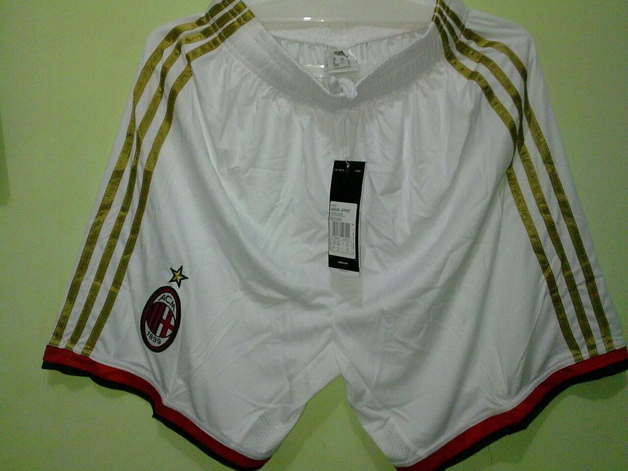 Shorts / Celana Grade Ori AC Milan Home / Away 2013/2014