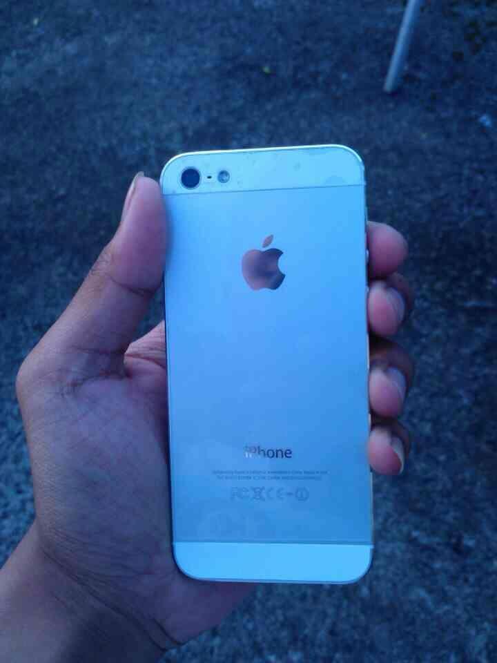 Iphone 5 white bandung!!
