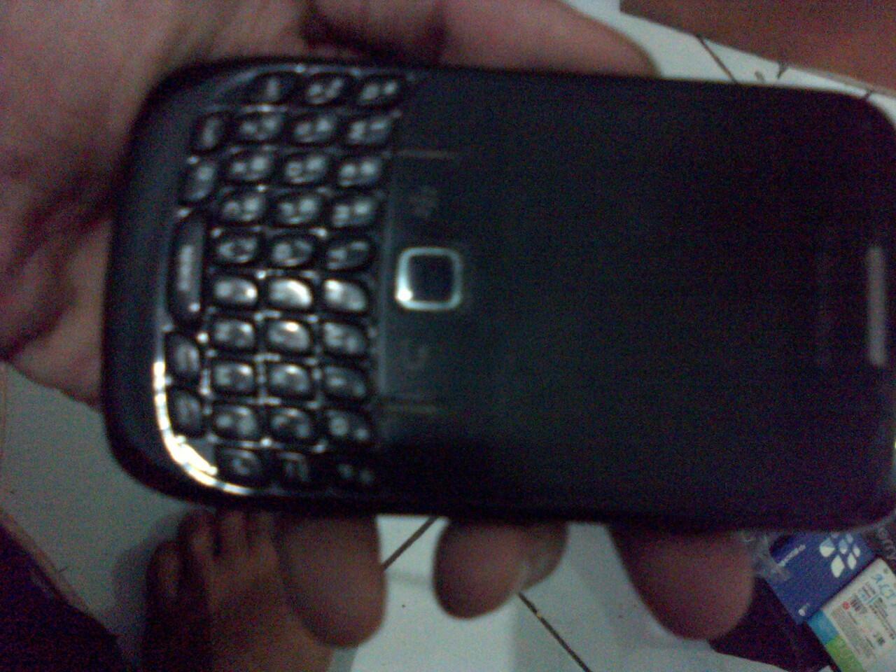 Blackberry gemini cdma (aries) hitam 8530
