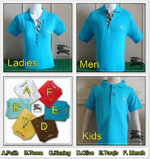 (jual) t-shirt burberry for ladies kw super