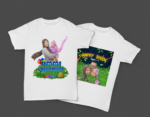 Kaos Cetak Dijital untuk Bayi/Anak