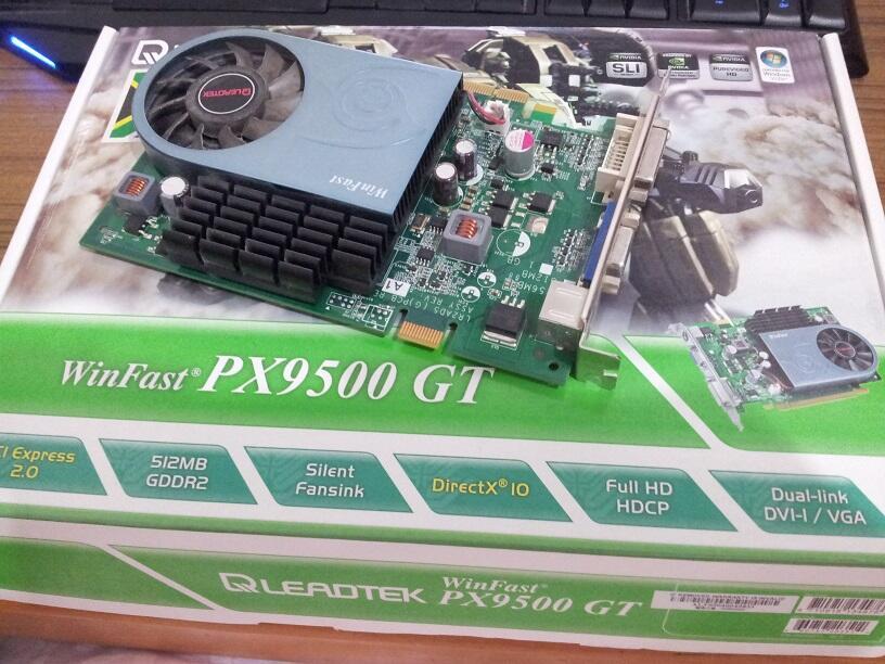 Leadtek Winfast PX9500GT 512MB GDDR2