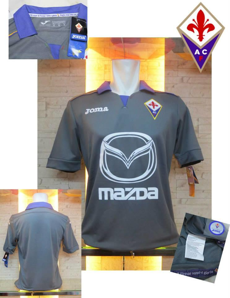 JERSEY FIORENTINA NEW 2013/14 OFFICIAL HOME AWAY