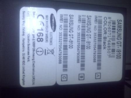 Samsung Galaxy S II Black GT-i9100 --- Maknyuuus gan....