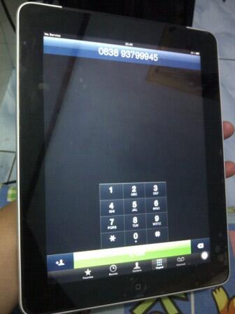Ipad 1st gen, 64gb wifi+3G .. Bisa Nelpon & SMS.. Terima Barter/TT..