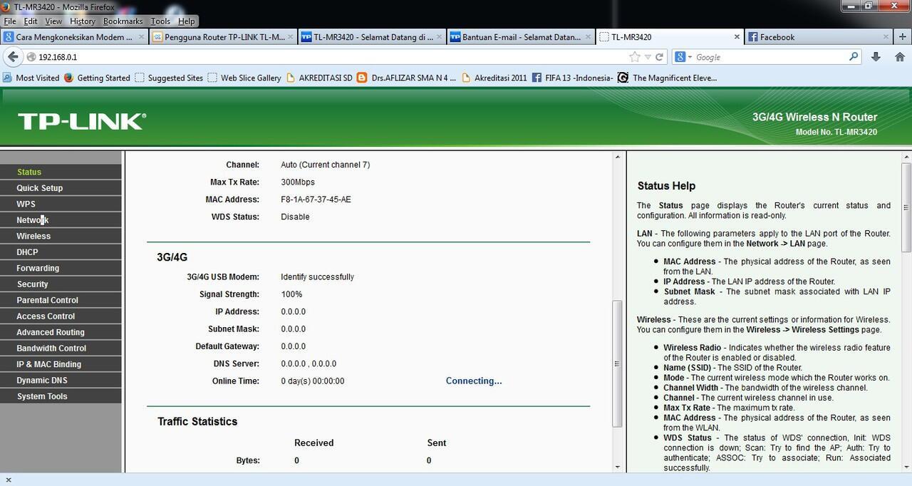 Pengguna Router TP-LINK TL-MR3420/TL-MR3220 - Part 1 - Page 130 | KASKUS