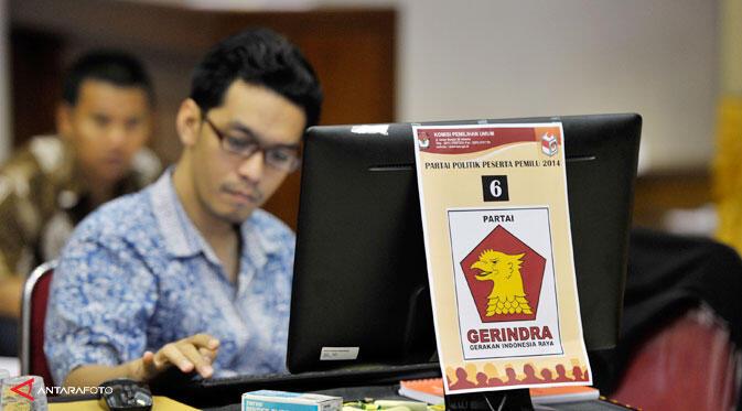 DPT Masih Amburadul, Gerindra Tolak Ditetapkan Hari Ini