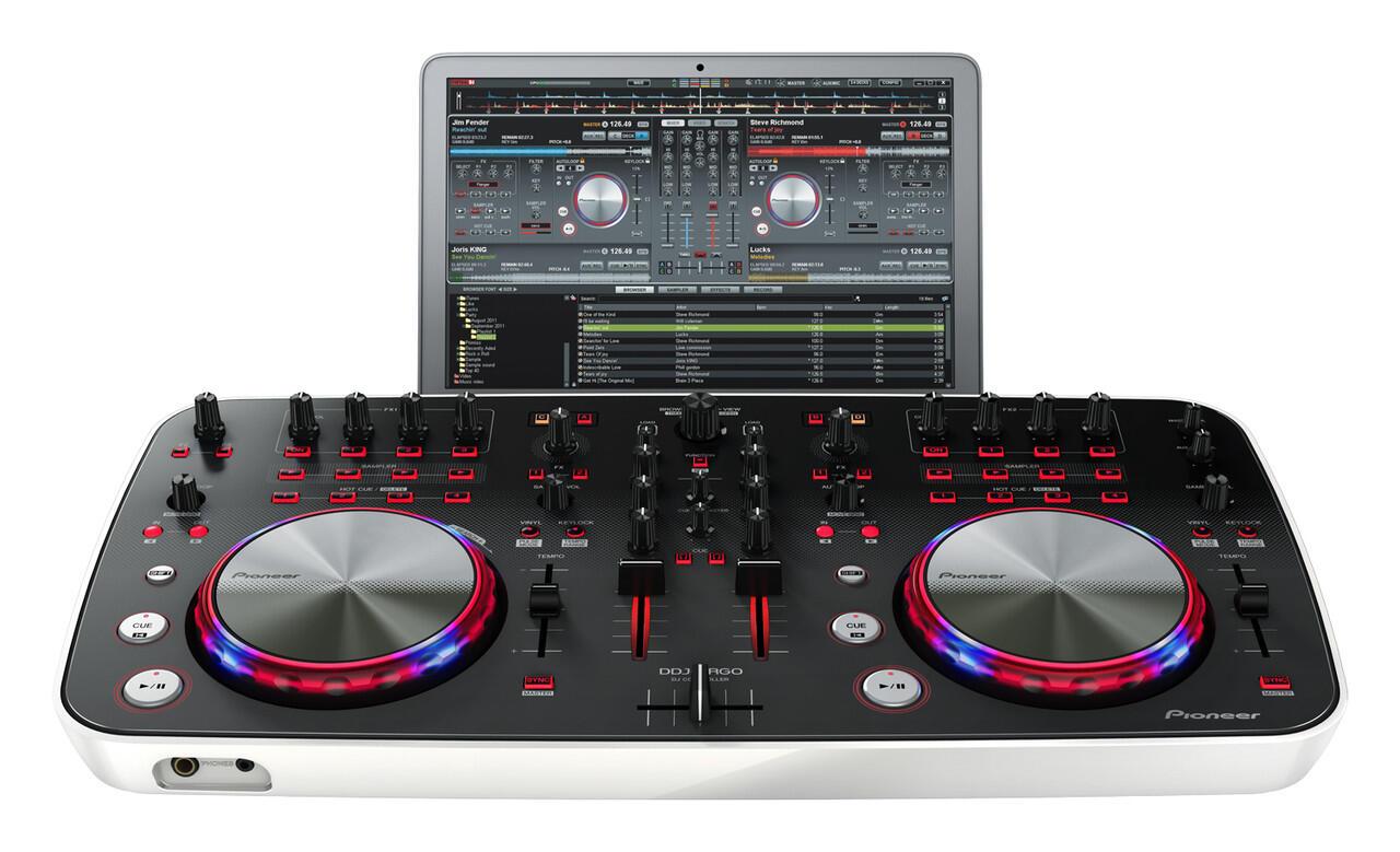 DDJ (digital disk Jockey) for Home made MIXING