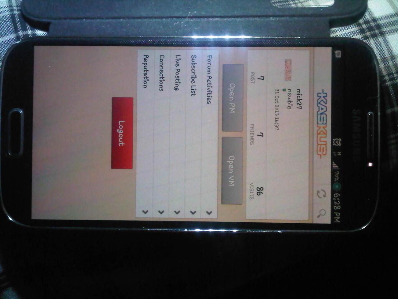 Samsung Galaxy S4 asli BUKAN REPLIKA