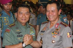 TNI dan Polri Bersinergi Amankan Pemilu 2014