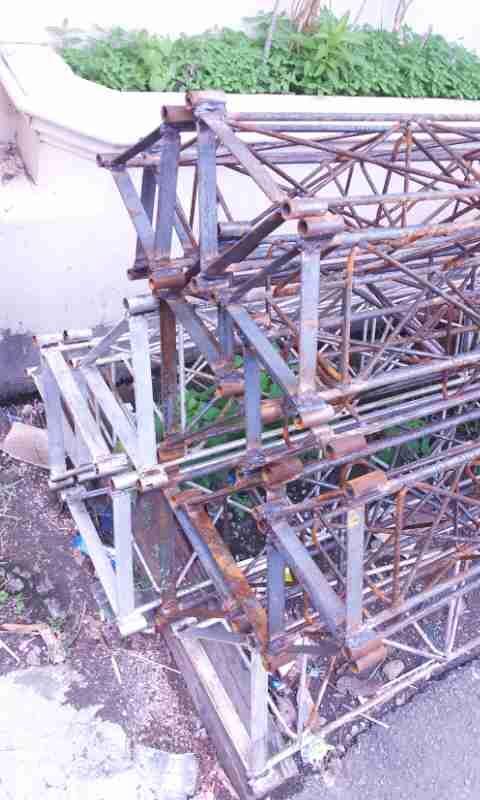 Jasa Pembuatan Produksi Instalasi pasang tower internet Triangle Harga Grosir