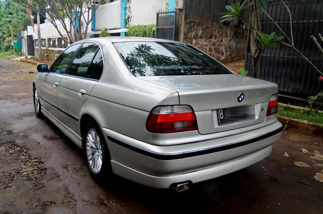 BMW 528i Astral Silver 1997 Full Orisinil Mulusssssss