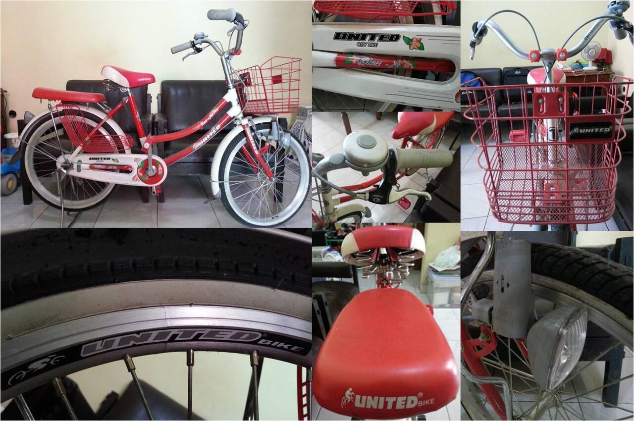 Terjual Jual Sepeda Mini United 20 Kaskus