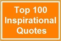 [Ambil Satu Untuk Hidup Anda] Top 100 Inspirational Quotes