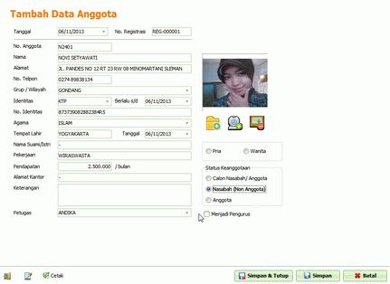 Software Koperasi - Synergia KSP versi 2.1 (tersedia versi demo)