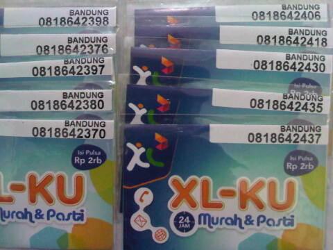 super murah XL 10 digit @ 40rb an gan