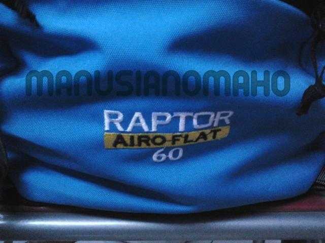 Tas Carrier / keril Cozmeed Raptor 60L ORI RARE!!