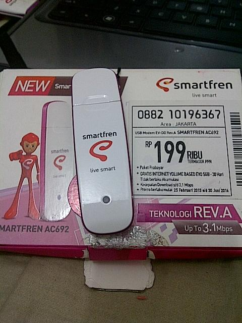 Modem Smartfren type AC692 SECOND
