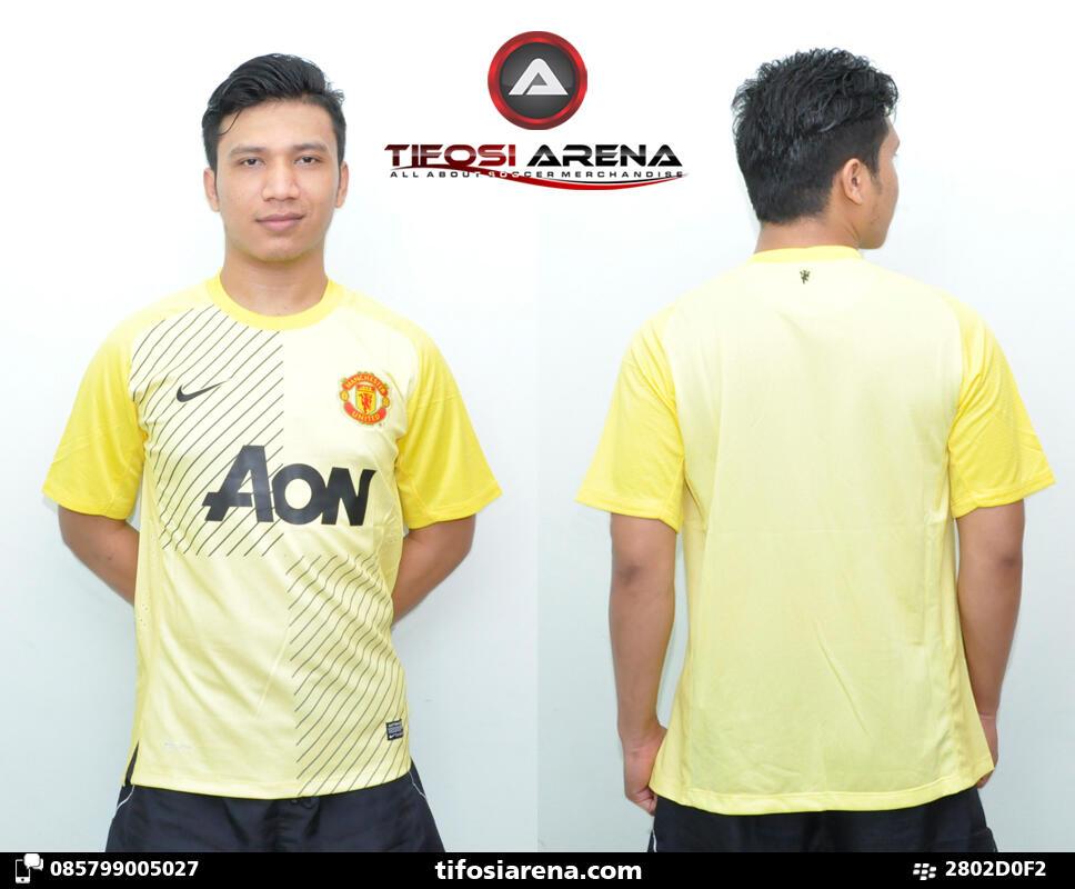 TIFOSI ARENA - Jersey KW Thailand Kiper Manchester United Kuning 2013-2014
