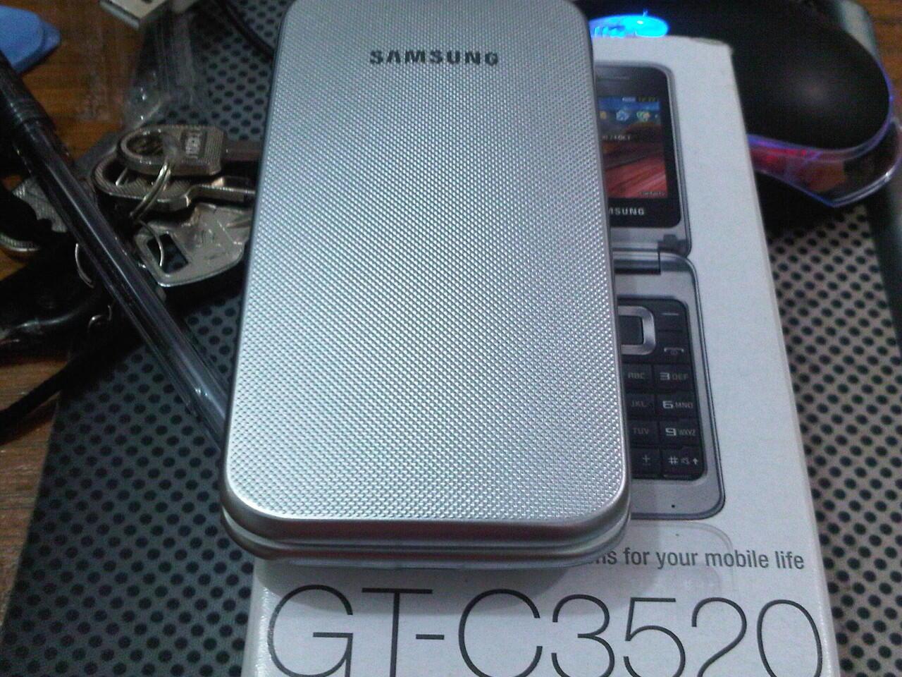 Terjual Samsung Flip Gt C3520 Silver Pontianak Kaskus Zoe Waterproof Bag Case Biru Terlengkap