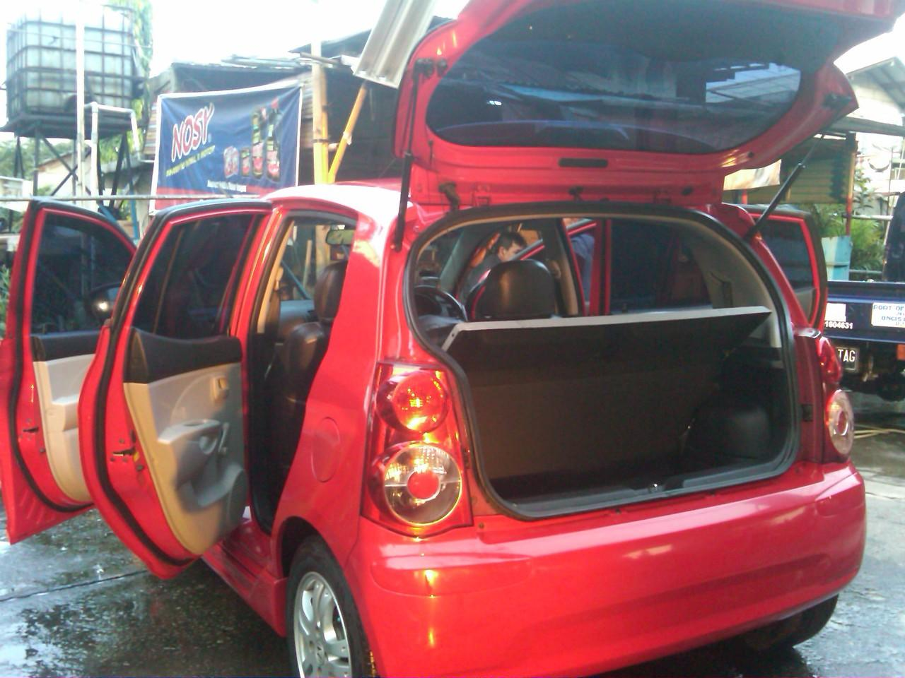 KIA Picanto Matic 2008 (Merah Solid) cash/credit