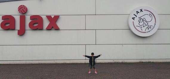 Galeri Tristan Alif Berlatih Bersama Ajax Amsterdam