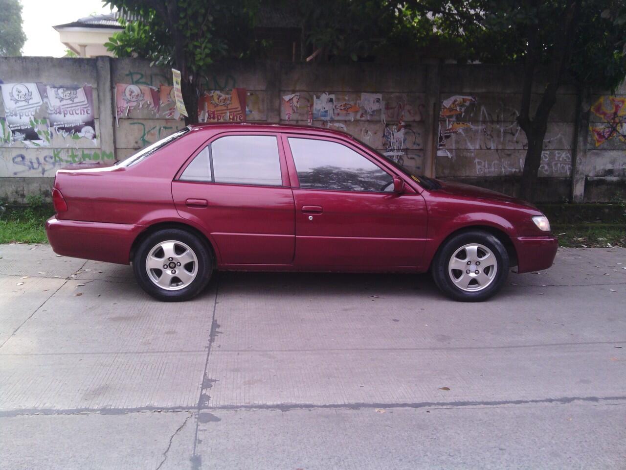 Dijual Toyota Soluna TH 2003 ex TAXI