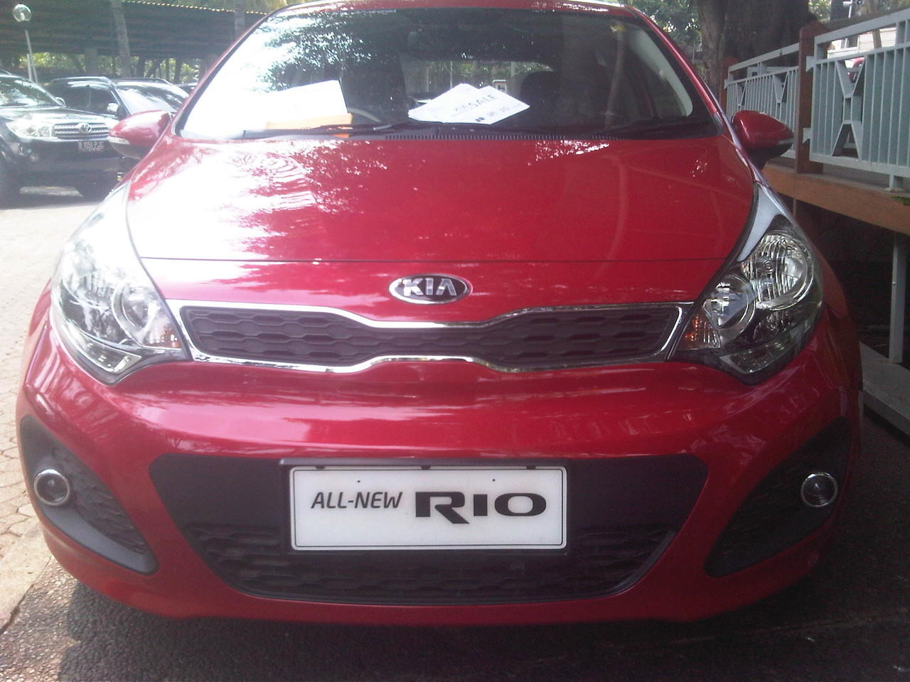 dijual kia all new rio unit ready stock promo free headunit,dll