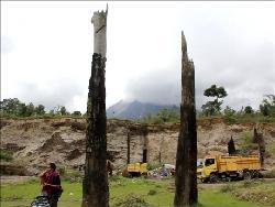 Melihat Jejak Letusan Gunung Sinabung 800 Tahun Silam