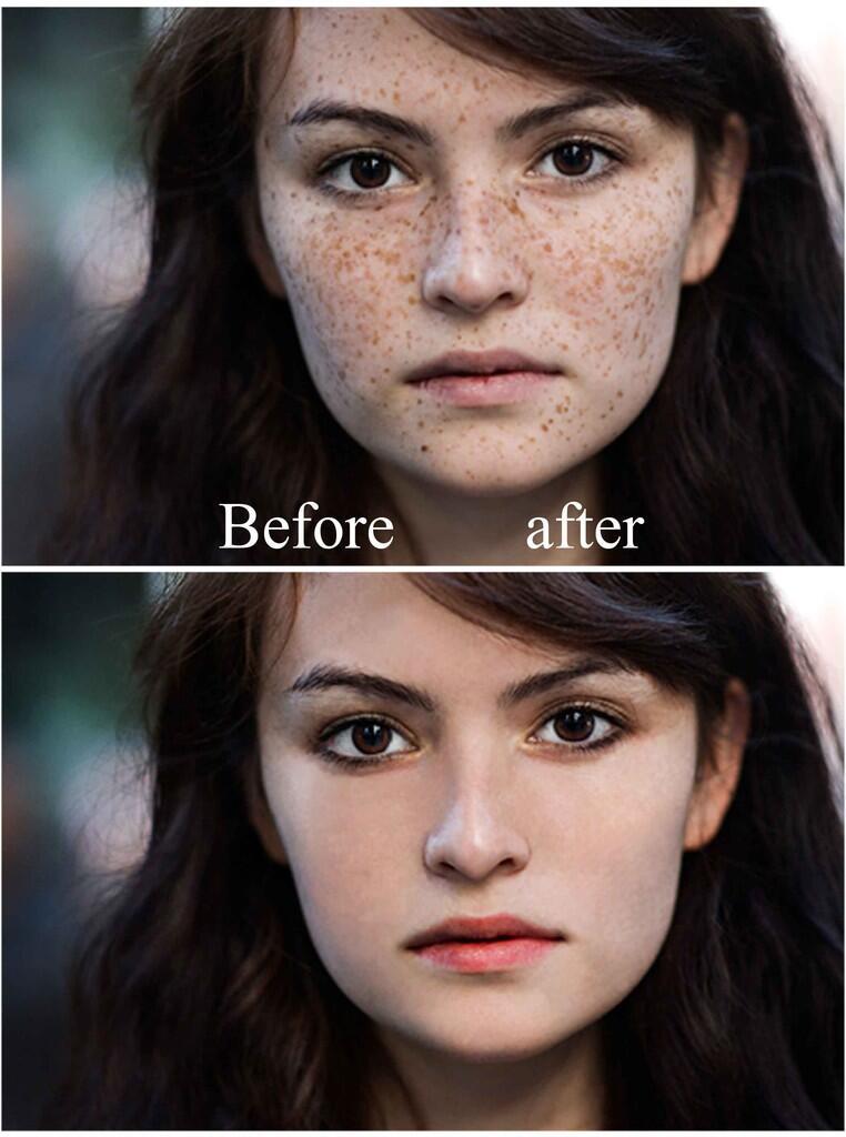 Sentuhan Foto Yang Luar Biasa Sesudah dan Sebelum Photoshop